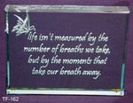 Life isn't measured by the  breaths we take