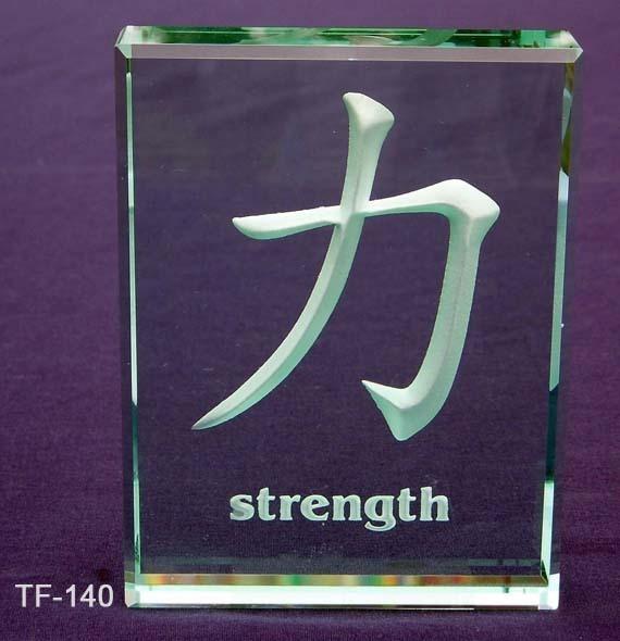 Strength Kanji Symbol